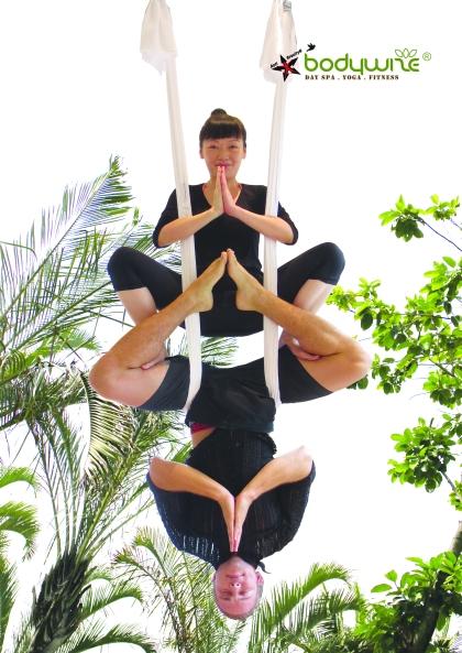 Lisa Mak | Tamer Begum | AntiGravity Fitness Hong Kong