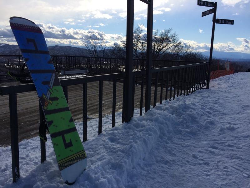 Tamer Begum Snowboarding Japan