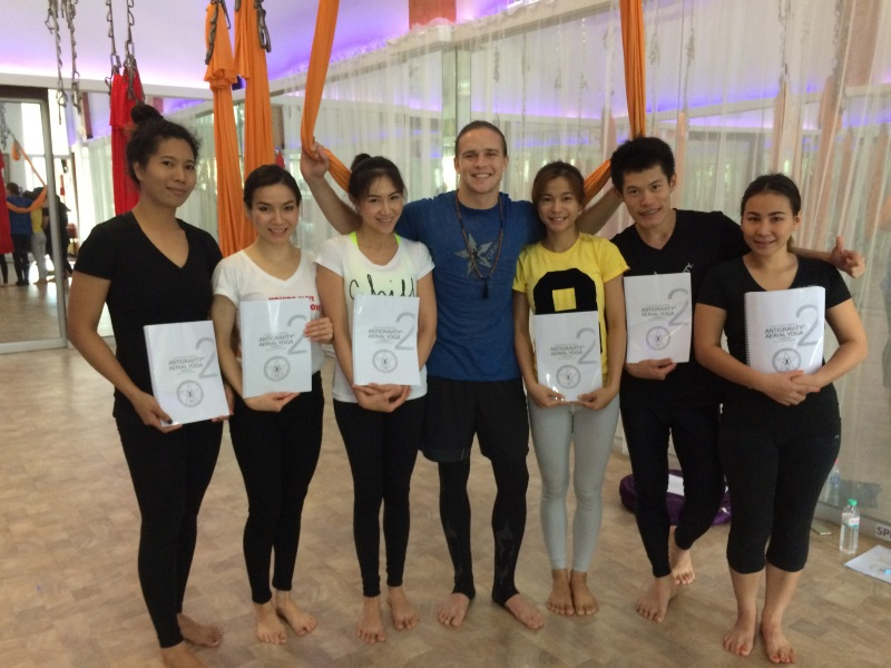 AntiGravity Aerial Yoga Instructors - Bangkok