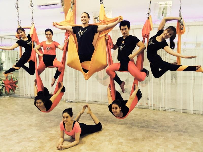 AntiGravity Aerial Yoga - Bangkok