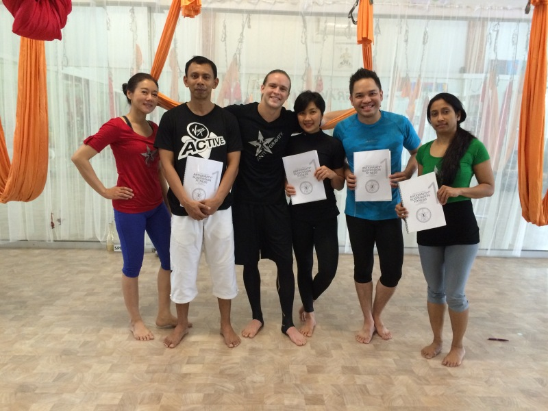 AntiGravity Suspension Fitness Instructors