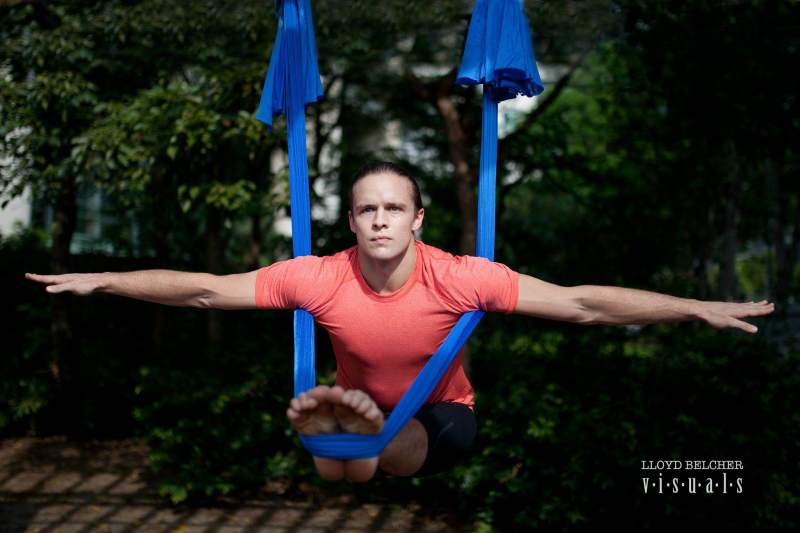 Tamer Begum Model, Actor, Master Trainer, Anti-Gravity Fitness