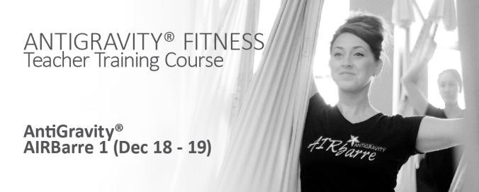 AIRBARRE Hong kong teacher training antigravity fitness