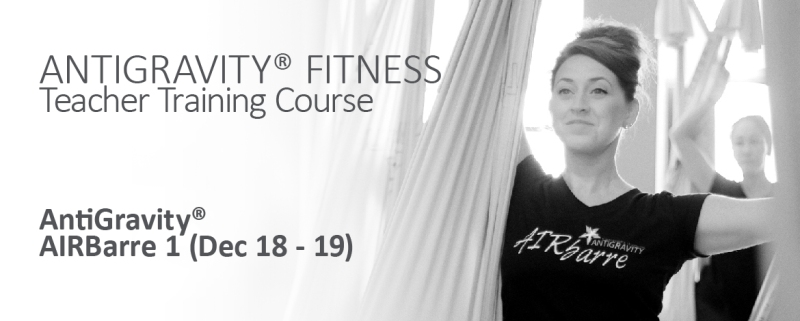 AIRBARRE Hong kong teacher training antigravity fitness