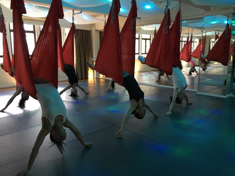 AntiGravity Fitness teacher trainings Hong Kong Epic Yoga 1