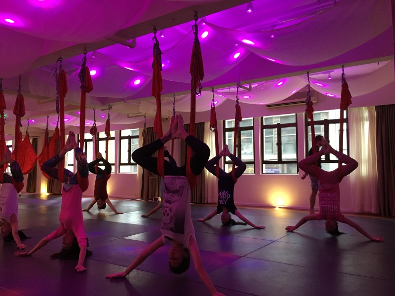 AntiGravity Fitness teacher trainings Hong Kong Epic Yoga 8