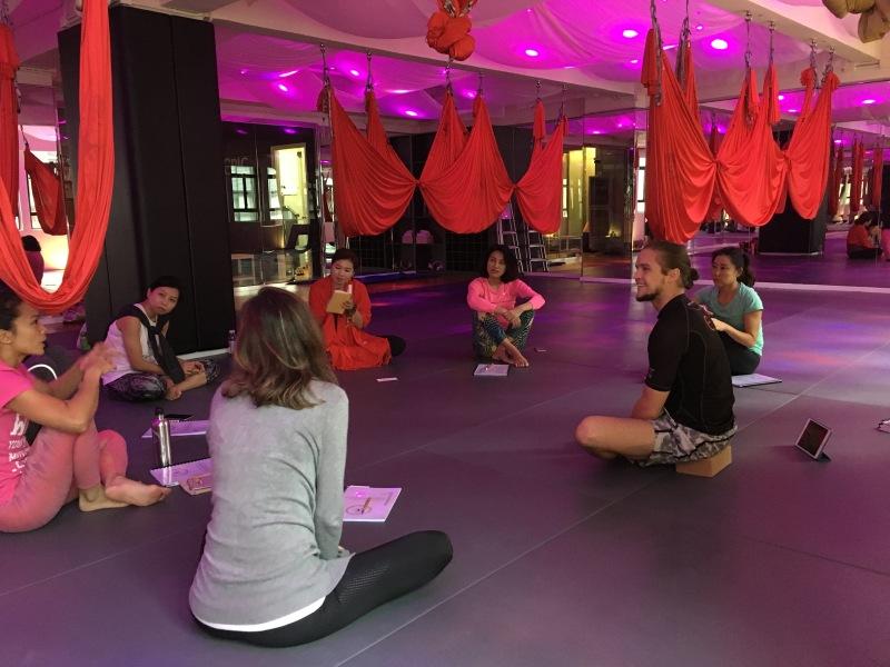 AntiGravity Fitness teacher trainings Hong Kong Epic Yoga 3