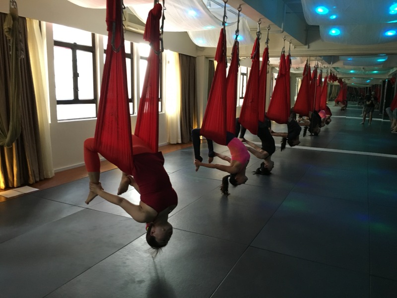 AntiGravity Fitness teacher trainings Hong Kong Epic Yoga 6
