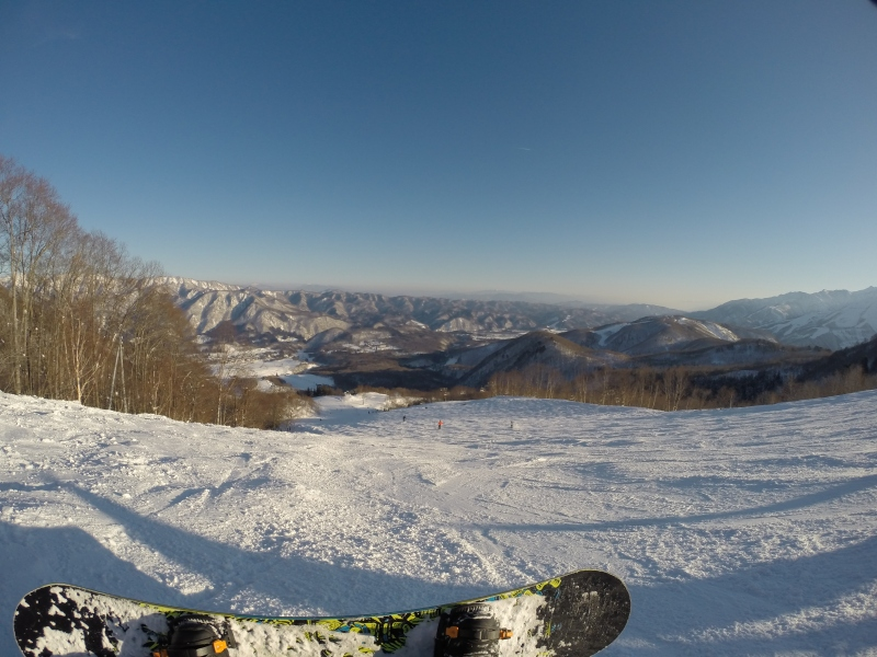 Tamer Begum snowboarding Hakuba Japan 2016