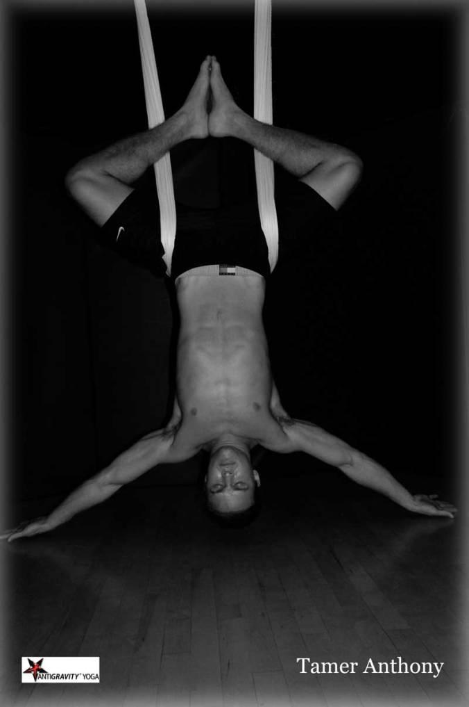 Tamer Begum antigravity fitness master trainer aerial yoga, fitness