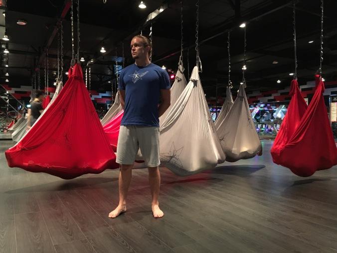 Tamer Begum antigravity fitness master trainer world gym taiwan