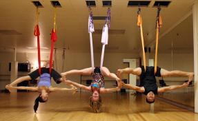 https://www.deseretnews.com/article/865556341/AntiGravity-Yoga-participants-strike-poses-at-Westminster.html
