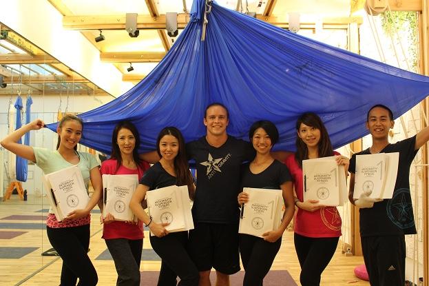 tamer begum master trainer to join antigravity fitness japan NAVI for business development and teaching
