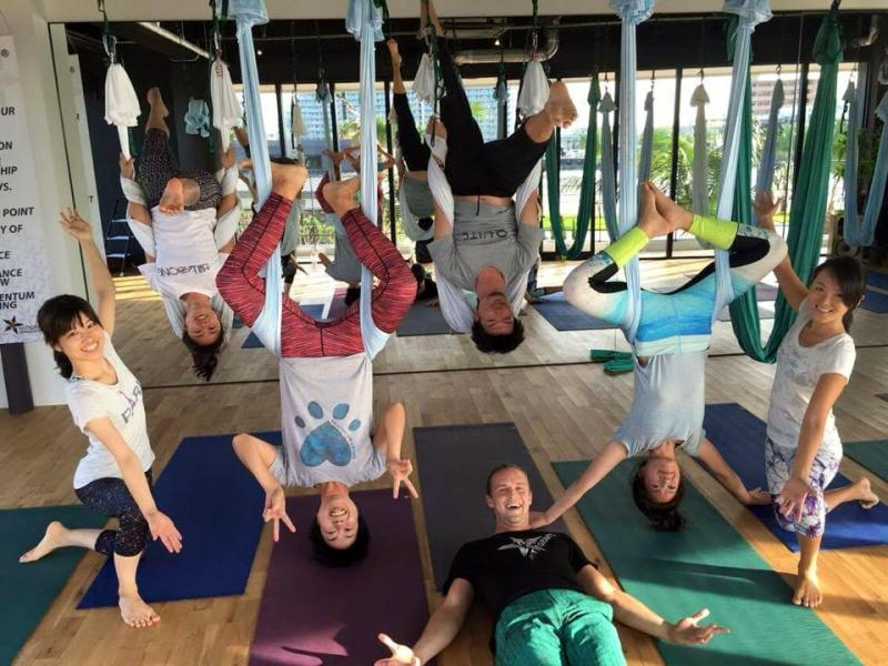 Honoured to teach the first AntiGravity Pilates Workshop in Japan