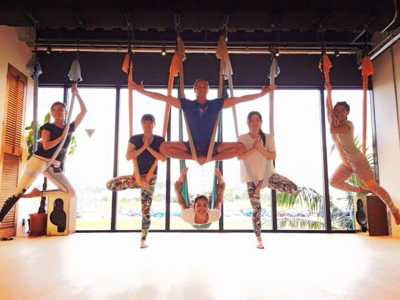 AntiGravity Master Trainer Tamer Begum Aerial Yoga Teacher Training