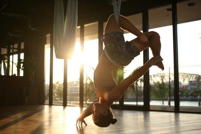 tamer anthony begum master trainer antigravity fitness aerial yoga japan