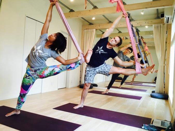 Tamer begum master trainer asia antigravity aerial fitness4