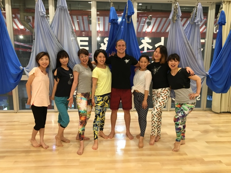 Tamer begum master trainer asia antigravity aerial fitness7