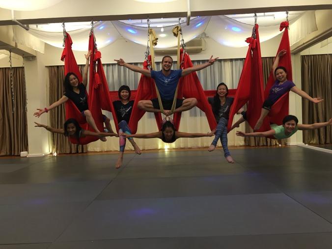 AntiGravity® Fundamentals and Aerial Yoga Teacher Training Courses at Epic Yoga!