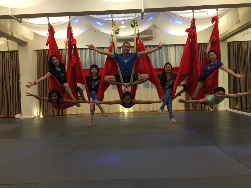 AntiGravity® Fundamentals and Aerial Yoga Teacher Training Courses at Epic Yoga!