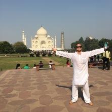 Taj Mahal with Dad