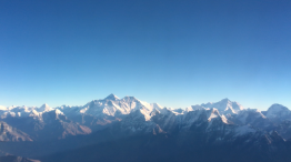 Mount everest flight