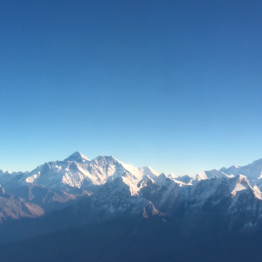 Mount everest flight
