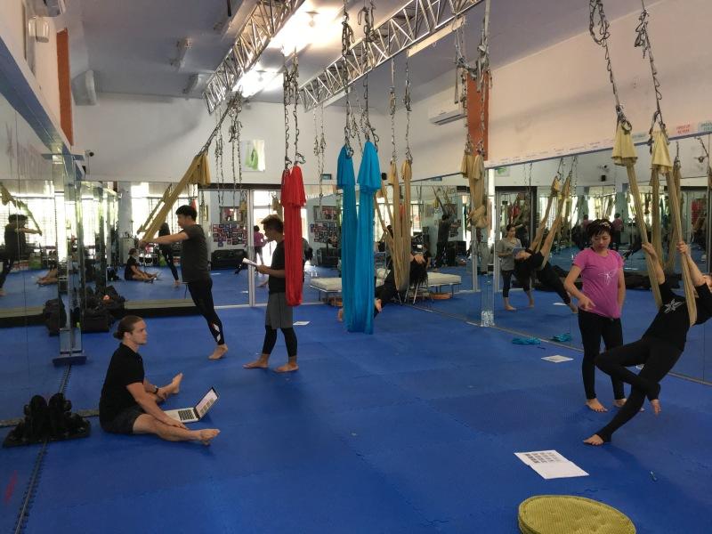 tamer begum master instructor trainer antigravity fitness