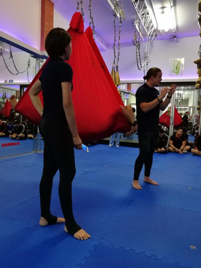 tamer begum antigravity fitness master trainer