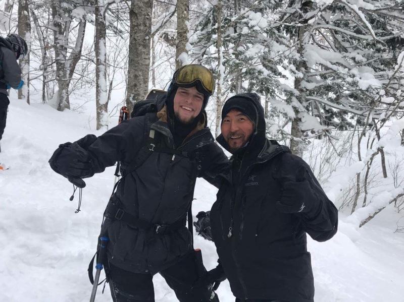 tamer begum snowboarding Hokkaido