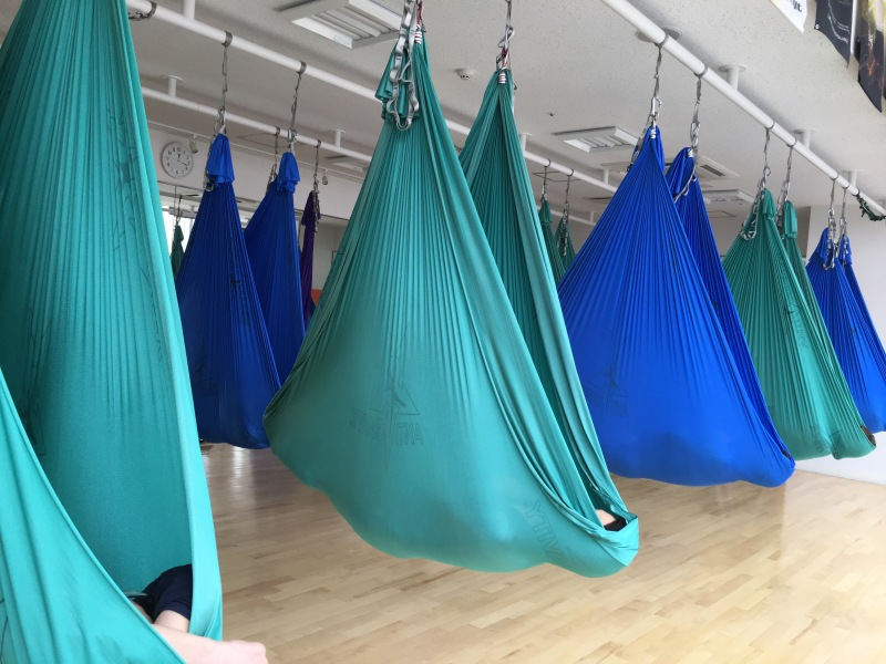 Tamer Begum AntiGravity Fitness Master Trainer Aerial Yoga Japan