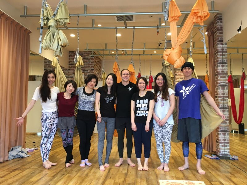 Studio FUGA AntiGravity Pilates Workshop