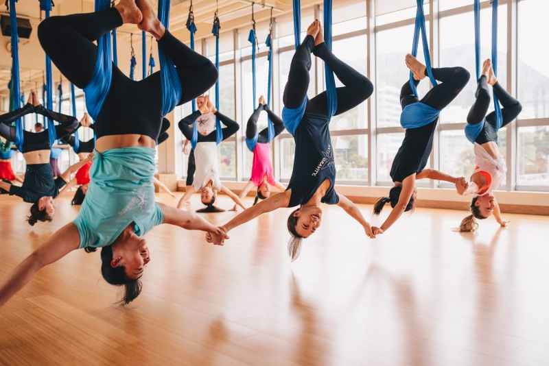 Tamer Begum AntiGravity Master Instructor Trainer – Flex Studio HK