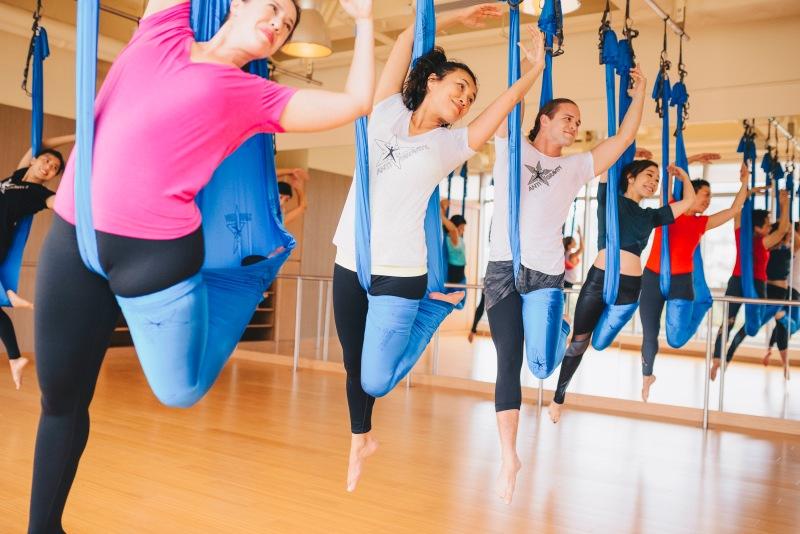 Tamer Begum AntiGravity Master Instructor Trainer – Flex Studio HK