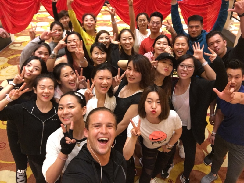 tamer begum antigravity aerial yoga master instructor china shanghai event