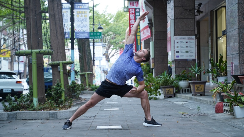 tamer begum yoga fitness fashion men with style model