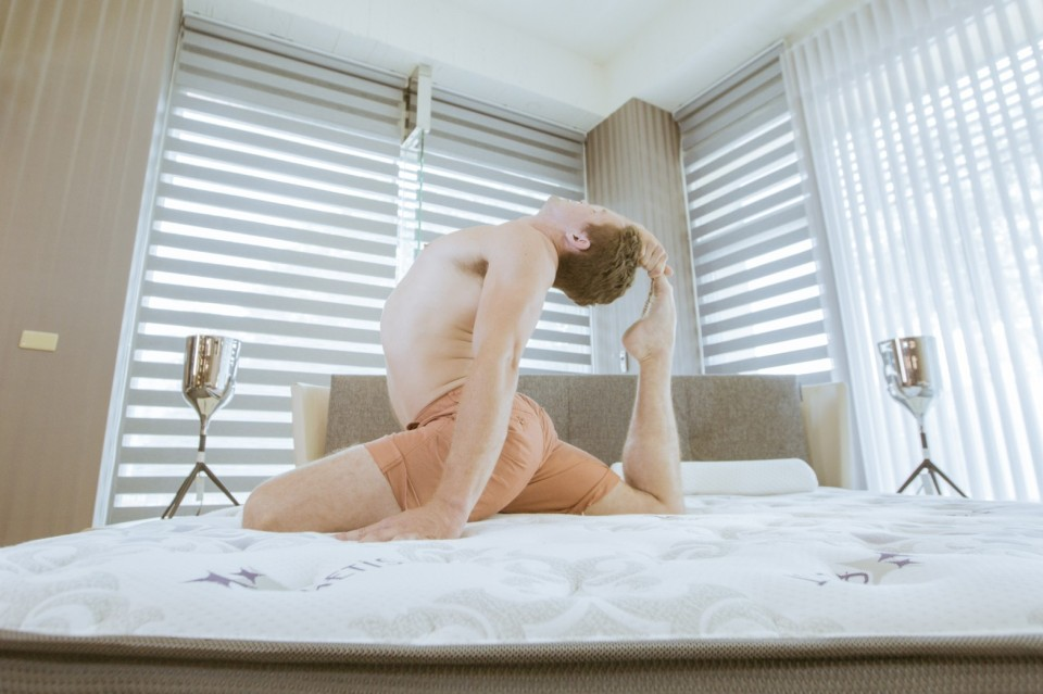 tamer begum yoga fitness model